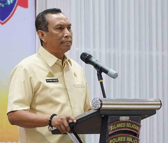 Ketua DPRD Wajo HM. Yunus Panaungi