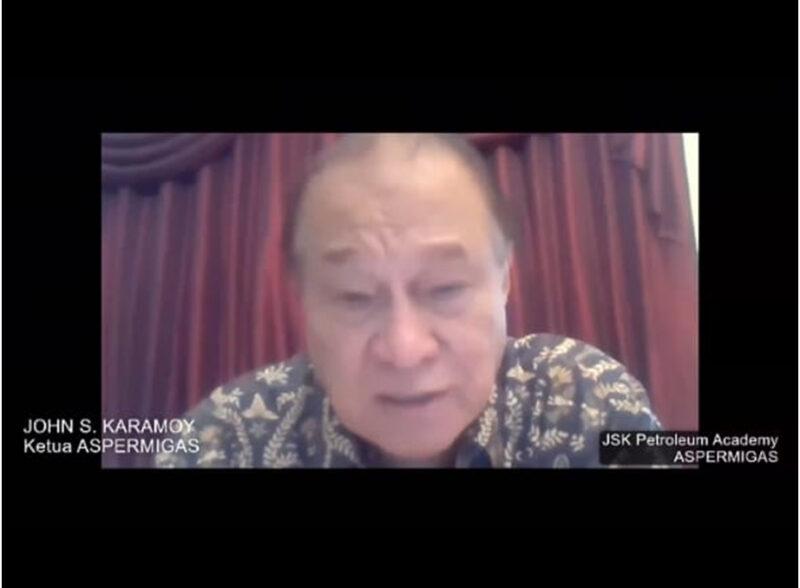 Ketua Umum Asosiasi Pertamina Minyak dan Gas (ASPERMIGAS) John S. Karamoy