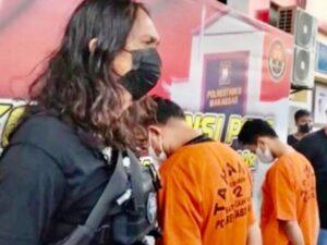 Dua Pelaku Pencurian di Balaikota Makassar Diringkus Polisi