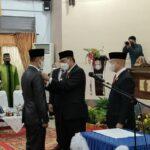 DPRD Wajo Paripurnakan PAW Legislator PDIP, Juniwan Akbar Gantikan Almarhum A. Tenri Lengka